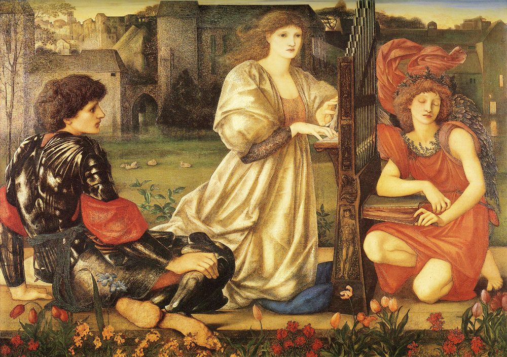 Edward Burne-Jones - The Love Song