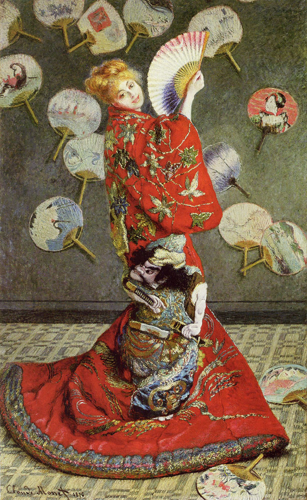 Claude Monet - Camille Monet in Japanese Costume