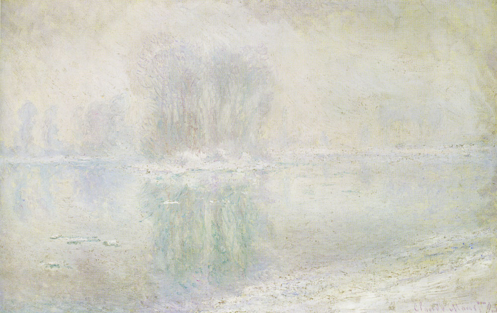Claude Monet - Ice Floes