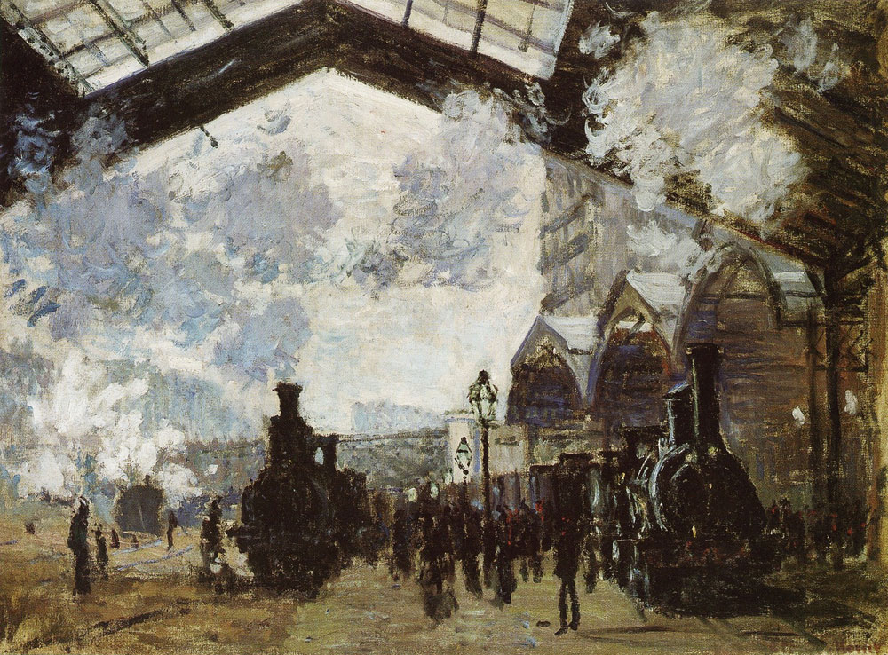Claude Monet - Saint-Lazare Station