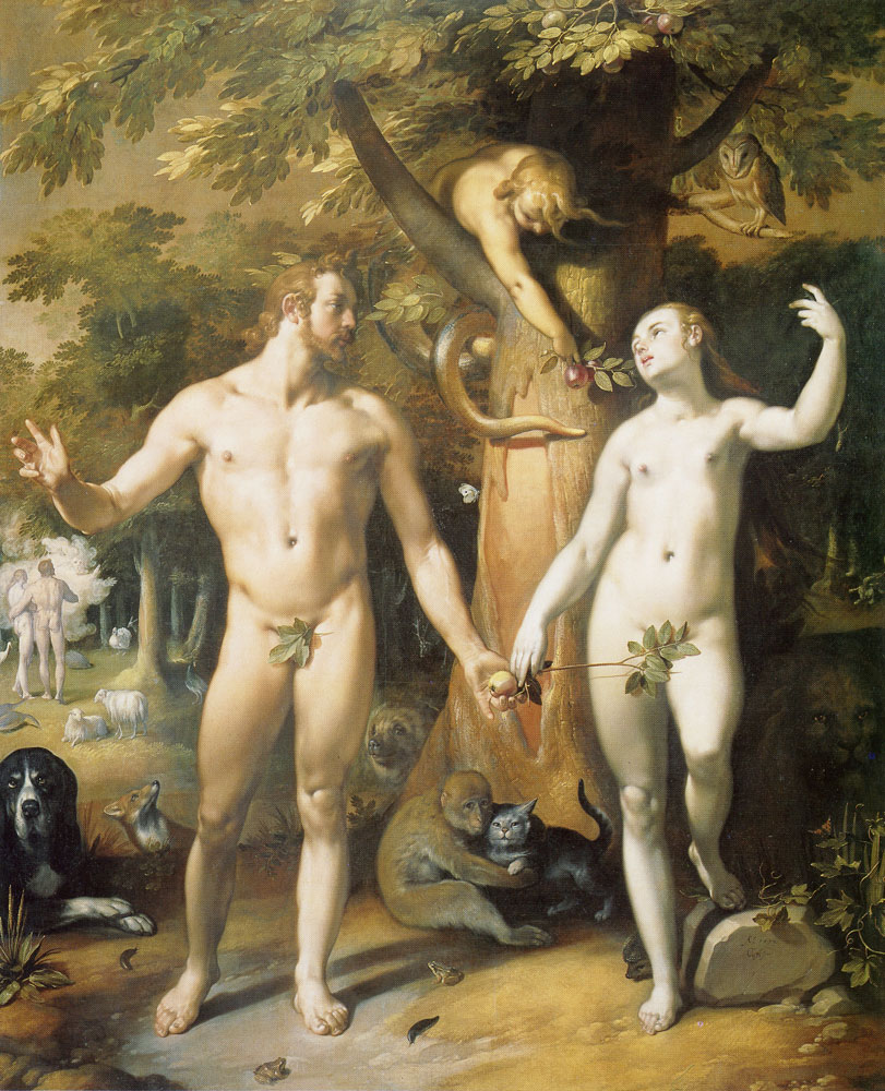 Cornelis van Haarlem - The Fall of Man
