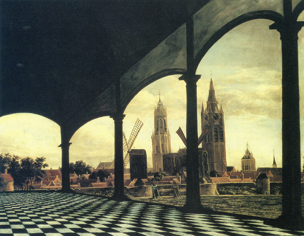 Daniel Vosmaer - View of Delft