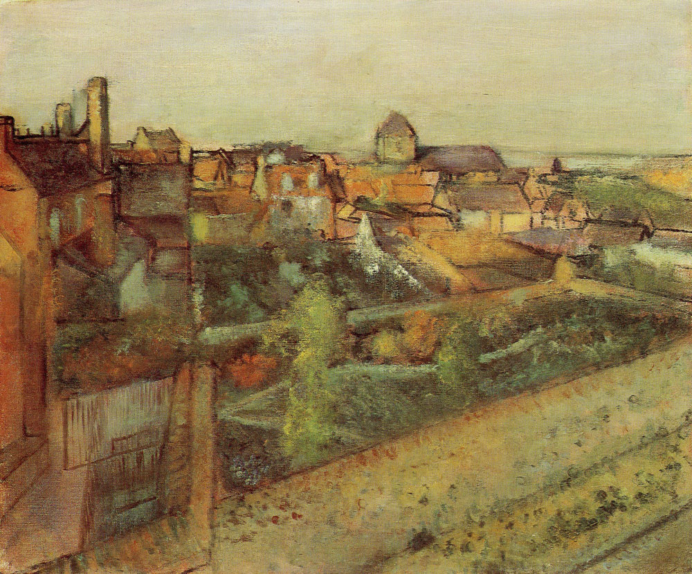 Edgar Degas - View of Saint-Valéry-sur-Somme