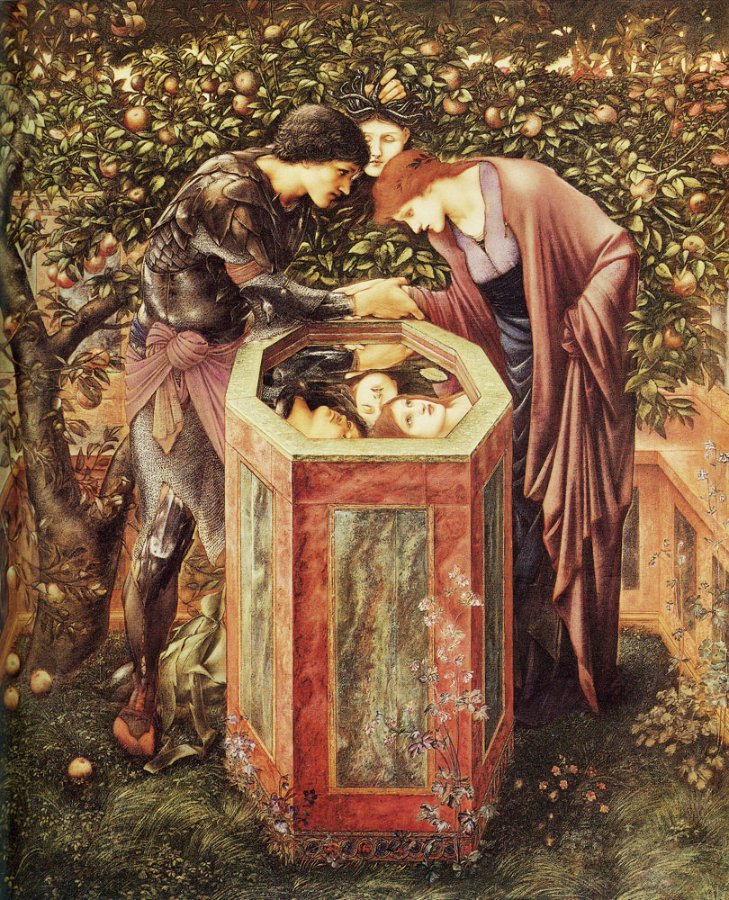 Edward Burne-Jones - The baleful head