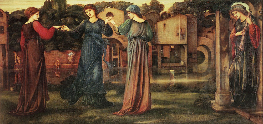 Edward Burne-Jones - The mill
