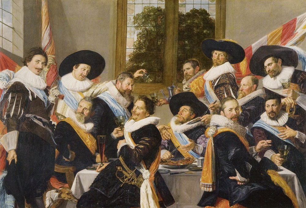 Frans Hals - Banquet of the Officers of the St. Hadrian Civic Guard