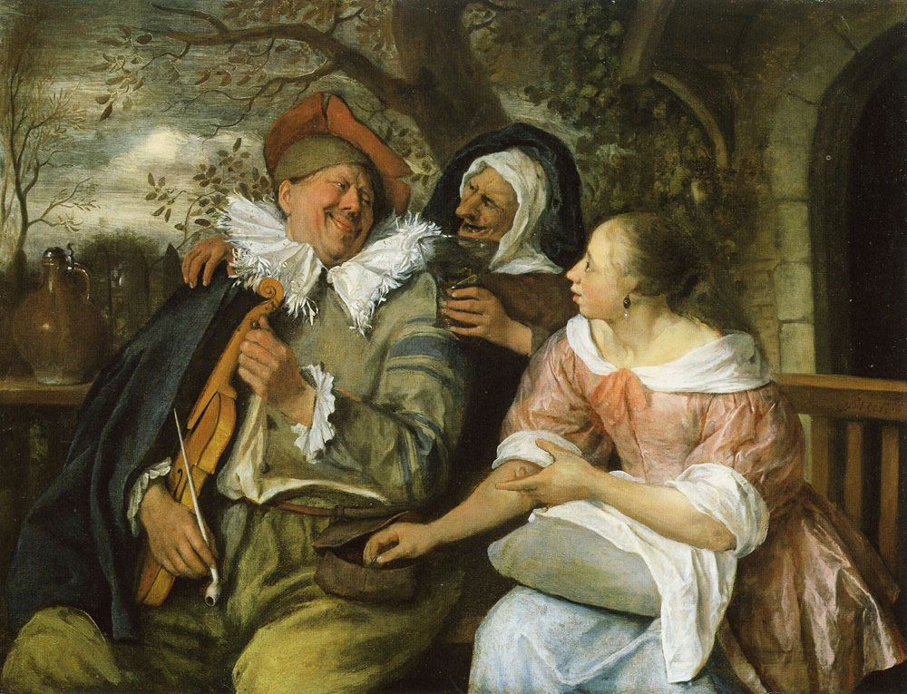 Jan Steen - The Merry Threesome