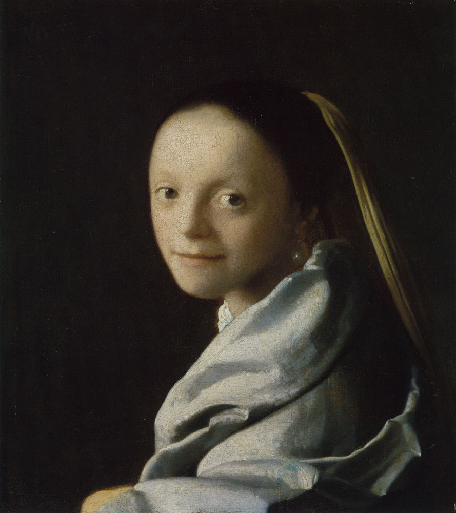 Johannes Vermeer - Study of a young woman