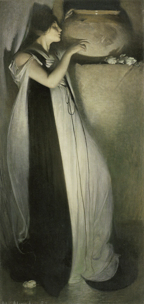 John White Alexander - Isabella and the Pot of Basil