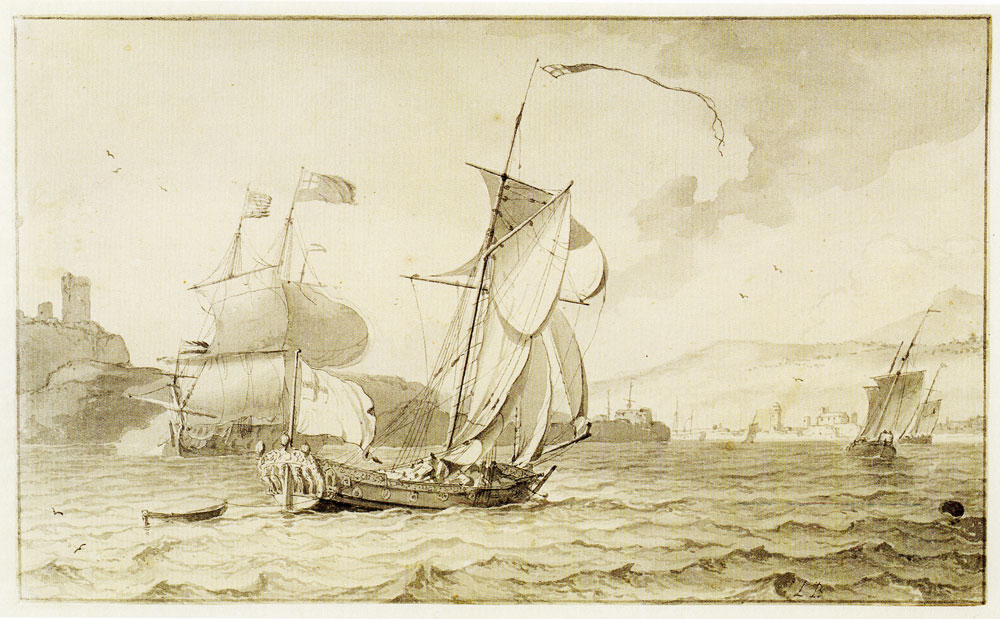 Ludolf Backhuysen - English ship