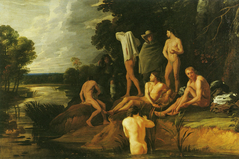Michael Sweerts - Bathing Scene