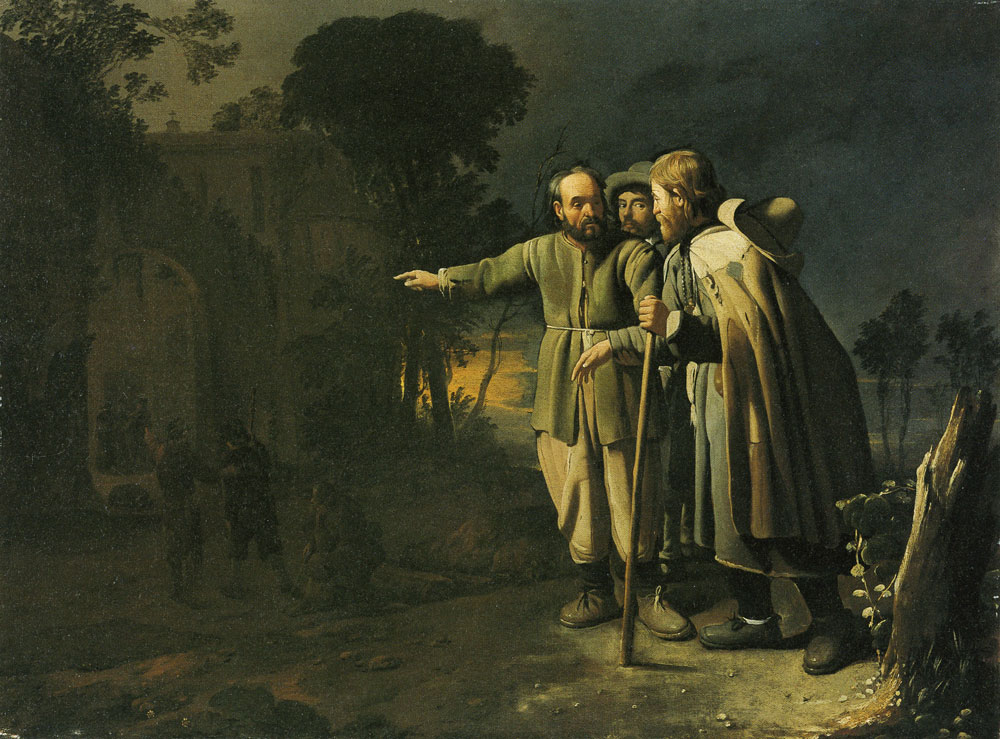 Michael Sweerts - The Seven Acts of Mercy - Harbouring the Stranger