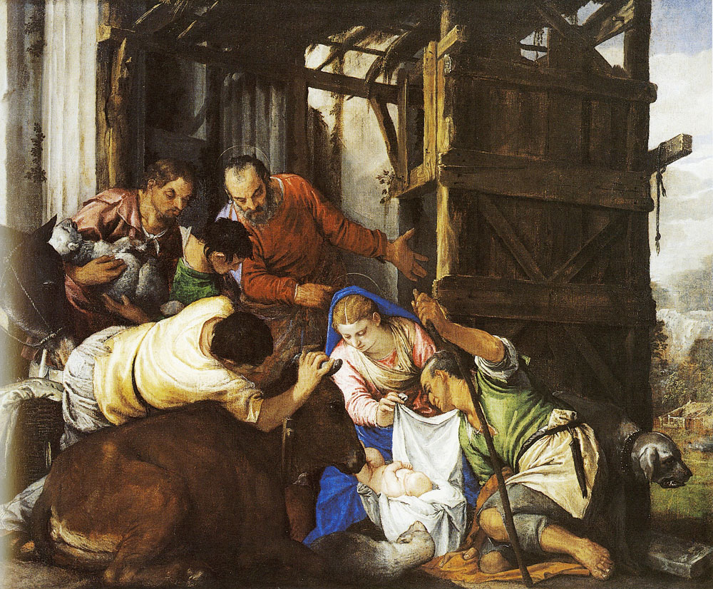 Paolo Veronese - The Adoration of the Shepherds