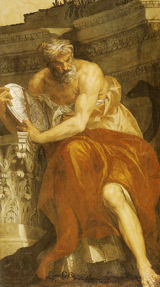 Paolo Veronese - An Allegory of Navigation with an Astrolabe: Ptolemy