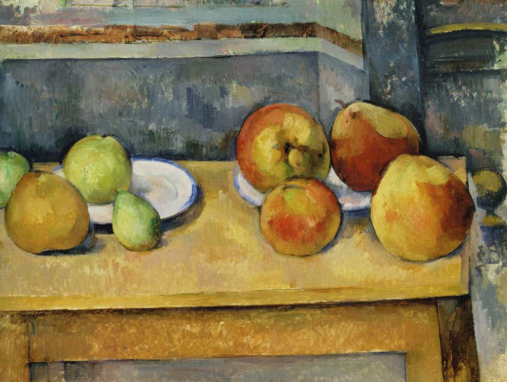 Paul Cézanne - Still Life with Apples and Pears
