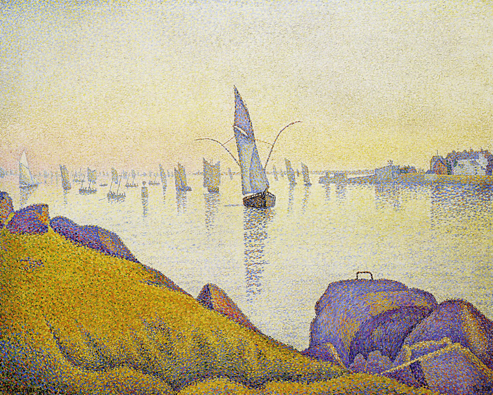 Paul Signac - Evening Calm, Concarneau, Opus 220 (Allegro Maestoso)