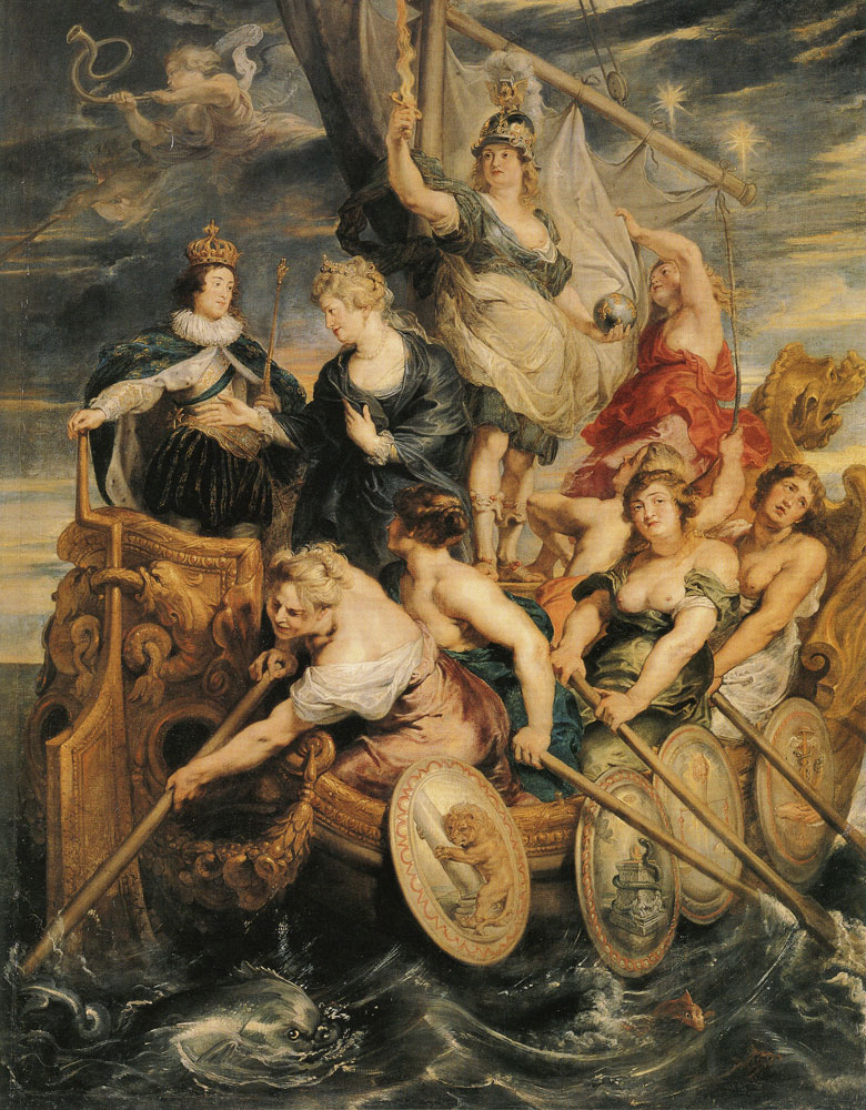 Peter Paul Rubens - The Coming of Age of Louis XIII