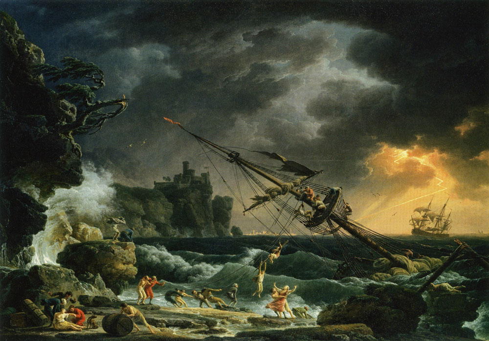 Claude-Joseph Vernet - The Shipwreck