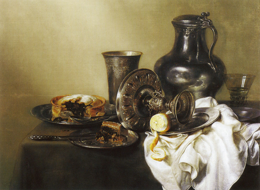 Willem Heda - Still Life with Pasty
