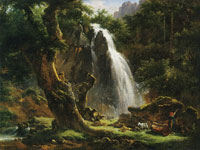 Achille-Etna Michallon Waterfall at Mont-Dore