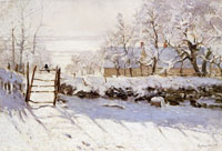 Claude Monet The Magpie