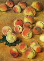 Claude Monet Peaches