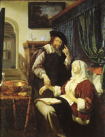 Frans van Mieris the Elder The doctor's visit