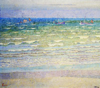 Jan Toorop - The sea