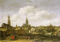 Daniel Vosmaer Explosion of the Powder Magazine in Delft