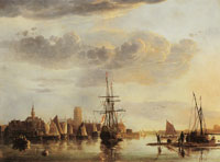 Aelbert Cuyp Dordrecht from the North