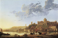 Aelbert Cuyp The Valkhof at Nijmegen from the Northwest