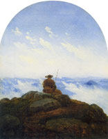 Carl Gustav Carus Wanderer on the mountaintop