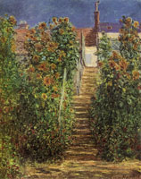 Claude Monet The Artist's Garden at Vetheuil