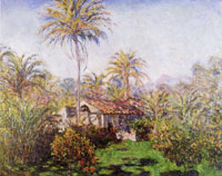 Claude Monet Gardener's House at Bordighera