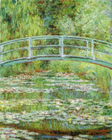 Claude Monet Bridge over a Pond of Water Lilies