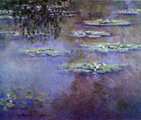 Claude Monet Water lilies