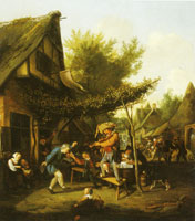 Cornelis Dusart Village Celebration