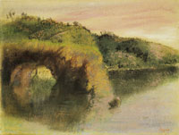 Edgar Degas River banks