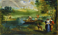 Edouard Manet Fishing