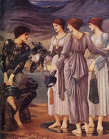 Edward Burne-Jones The arming of Perseus