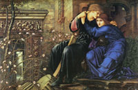 Edward Burne-Jones Love among the ruins