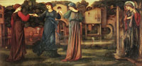 Edward Burne-Jones The mill