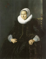 Frans Hals Portrait of Cornelia Claesdr Vooght