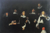 Frans Hals The Regents of the Oudemannenhuis