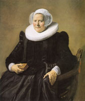 Frans Hals Portrait of a sitting woman