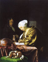 Frans van Mieris the Elder The letter writer