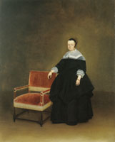Gerard ter Borch Margaretha van Haexbergen, wife of Jan van Duren
