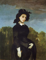Gustave Courbet Woman in a Riding Habit