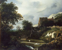 Jacob van Ruisdael Bleaching Ground
