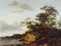 Jacob van Ruisdael Dunes by the Sea